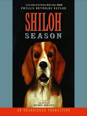 cover image of Shiloh Season
