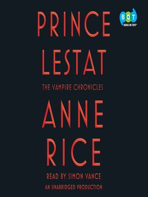 cover image of Prince Lestat
