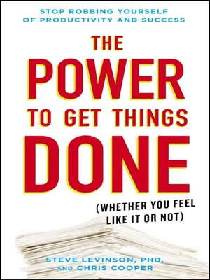 cover image of The Power to Get Things Done