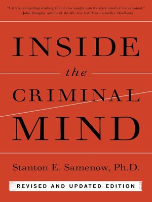 cover image of Inside the Criminal Mind