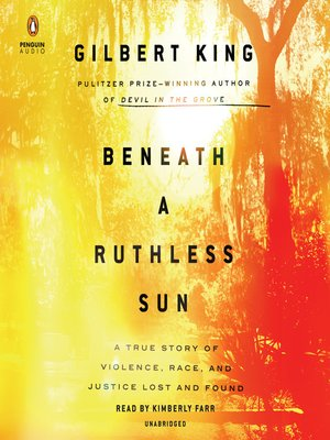 cover image of Beneath a Ruthless Sun