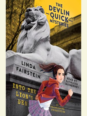cover image of Into the Lion's Den