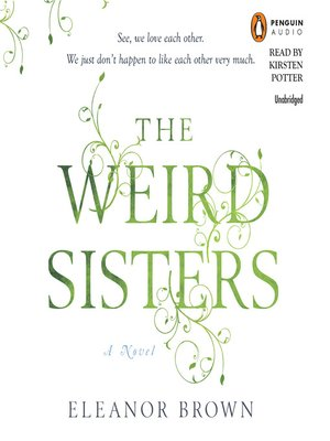 cover image of The Weird Sisters
