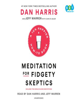cover image of Meditation for Fidgety Skeptics