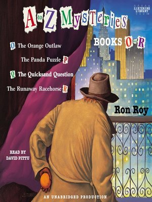 cover image of A to Z Mysteries, Books O-R
