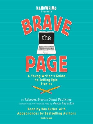cover image of Brave the Page
