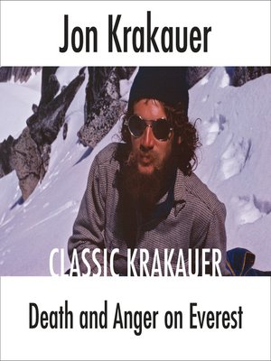 cover image of Death and Anger on Everest