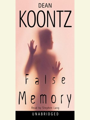 cover image of False Memory