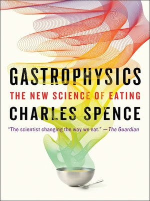 cover image of Gastrophysics