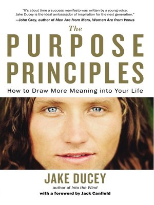 cover image of The Purpose Principles