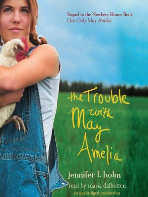 cover image of The Trouble with May Amelia