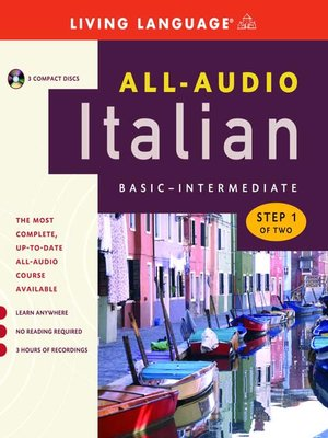 cover image of All-Audio Italian Step 1