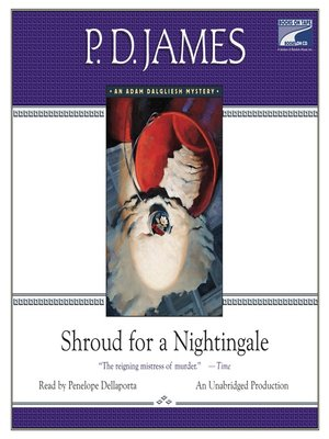 cover image of Shroud for a Nightingale