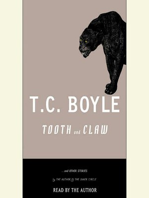 cover image of Tooth and Claw and Other Stories