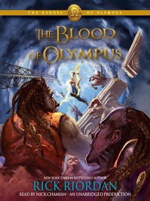 cover image of The Blood of Olympus