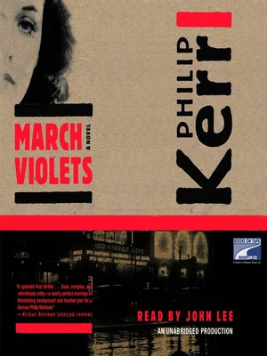 cover image of March Violets