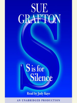 "cover image of ""S"" is for Silence"