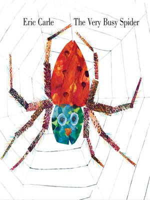 cover image of The Very Busy Spider