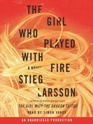 cover image of The Girl Who Played with Fire