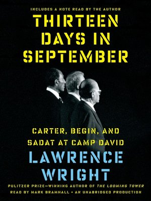 cover image of Thirteen Days in September