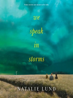 cover image of We Speak in Storms