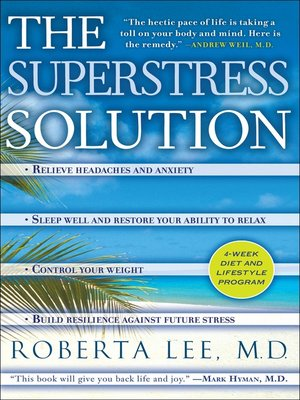 cover image of The SuperStress Solution