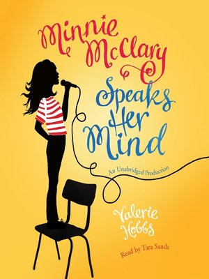 cover image of Minnie McClary Speaks Her Mind