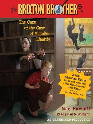 cover image of The Case of the Case of Mistaken Identity
