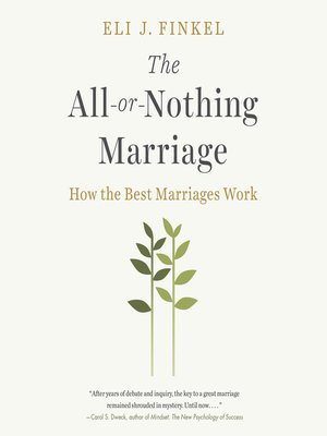 cover image of The All-or-Nothing Marriage