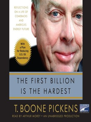 cover image of The First Billion is the Hardest