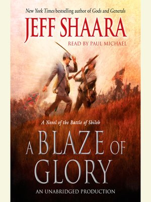 cover image of A Blaze of Glory
