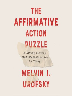 cover image of The Affirmative Action Puzzle
