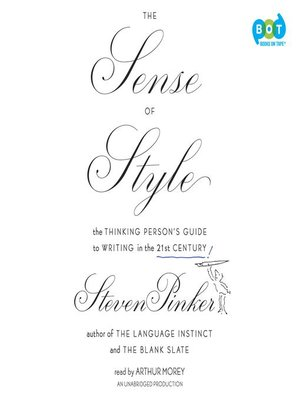 cover image of The Sense of Style