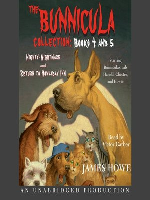 cover image of The Bunnicula Collection, Books 4-5