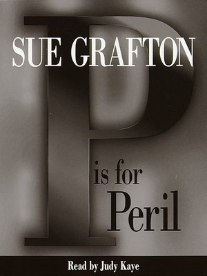 "cover image of ""P"" is for Peril"