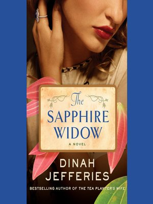 cover image of The Sapphire Widow