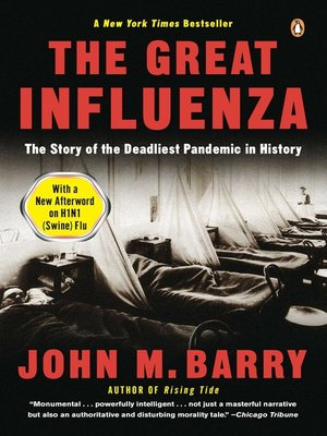 cover image of The Great Influenza