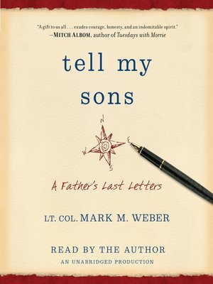 cover image of Tell My Sons