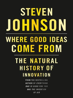 cover image of Where Good Ideas Come From