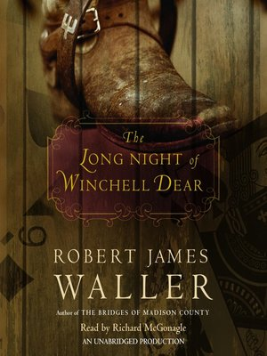 cover image of The Long Night of Winchell Dear