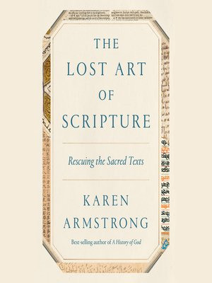 cover image of The Lost Art of Scripture