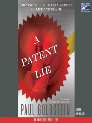cover image of A Patent Lie