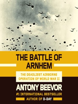 cover image of The Battle of Arnhem