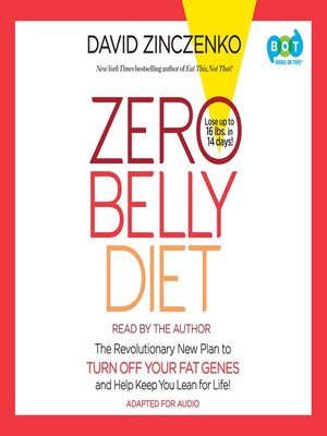 cover image of Zero Belly Diet