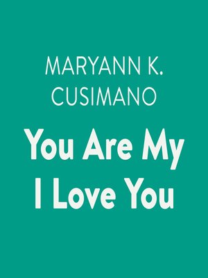 cover image of You Are My I Love You