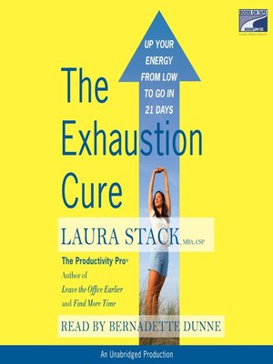 cover image of The Exhaustion Cure