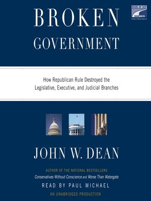 cover image of Broken Government