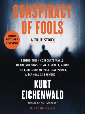 cover image of Conspiracy of Fools