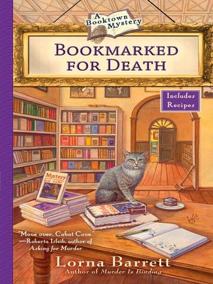 cover image of Bookmarked for Death