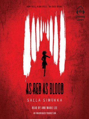 cover image of As Red As Blood